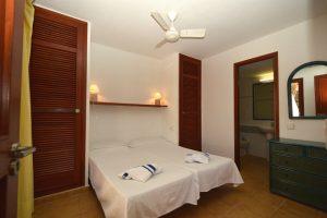 club cala azul standard apartment bedroom